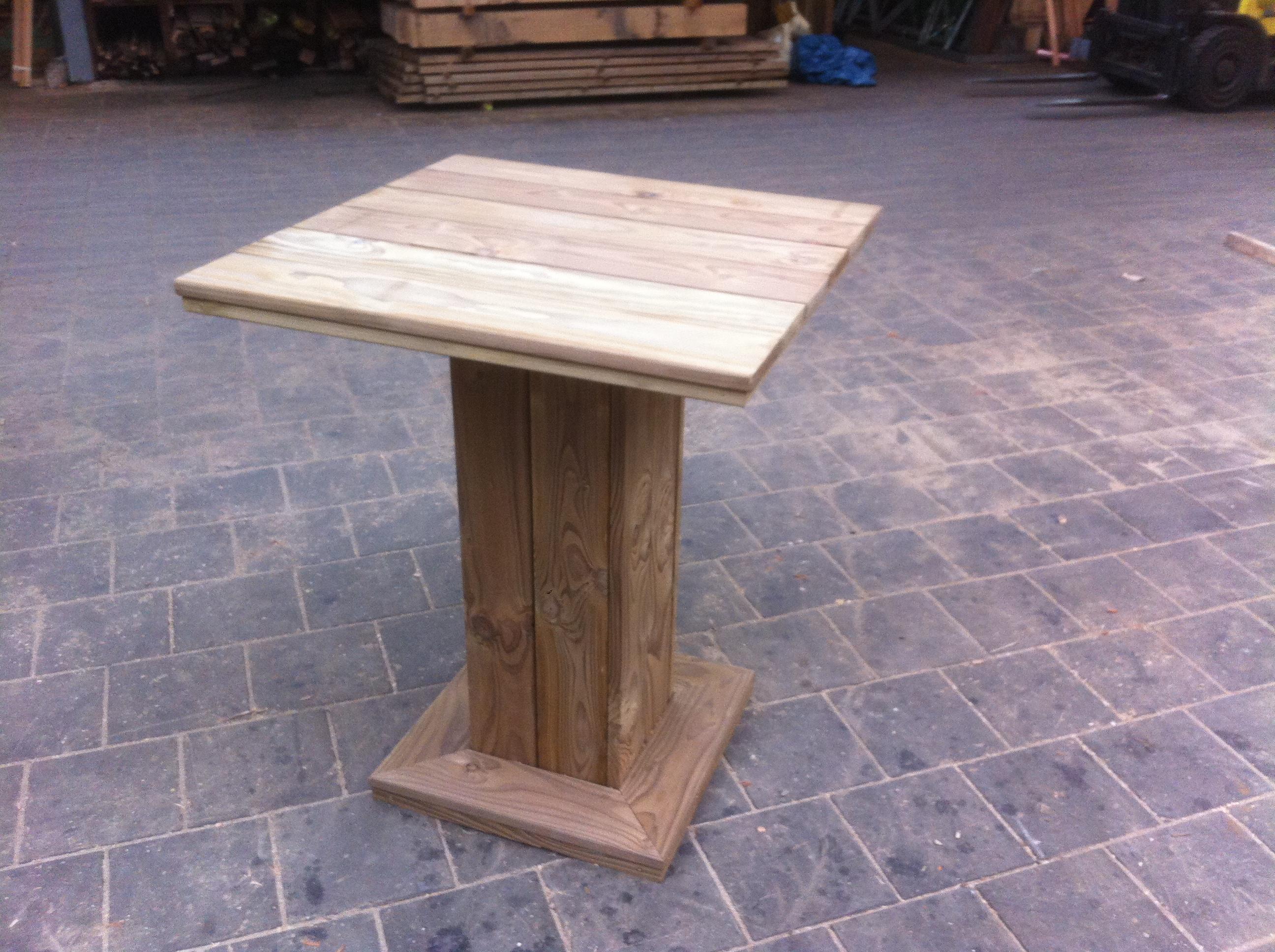 Nieuw model statafels houthandel van dal - Model bibliotheek houten ...